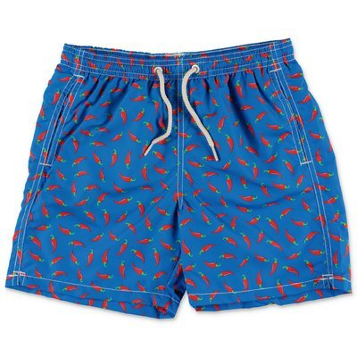 MC2 Saint Barth costume shorts da mare blu in nylon riciclato