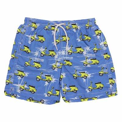 Costume shorts da mare blu