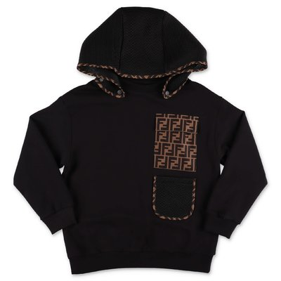 FENDI black cotton hoodie