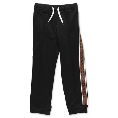 FENDI pantaloni neri in triacetato