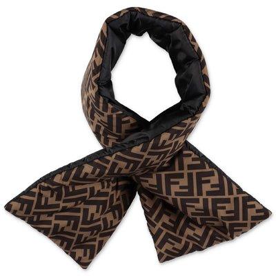 FENDI zucca print nylon scarf
