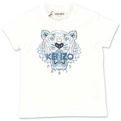 KENZO white cotton jersey t-shirt