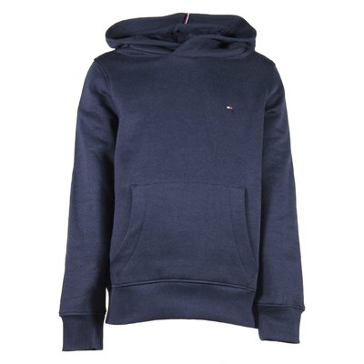Cotton blend sweatshirt hoodie