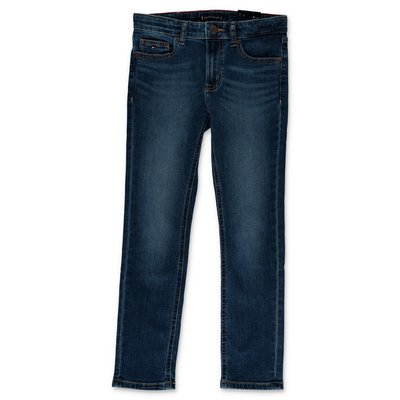 Tommy Hilfiger jeans blu in cotone denim stretch effetto Vintage