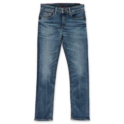 Tommy Hilfiger blue stretch demin cotton Vintage effect jeans