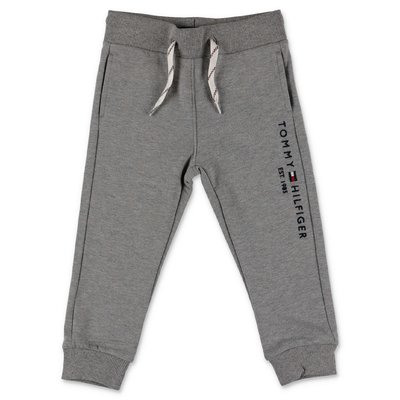 Tommy Hilfiger marled grey cotton sweatpants
