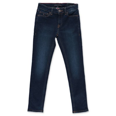 Tommy Hilfiger blue stretch cotton denim jeans