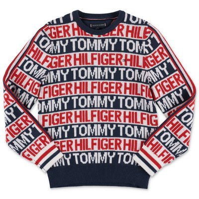 Tommy Hilfiger multicolor organic cotton knit jumper