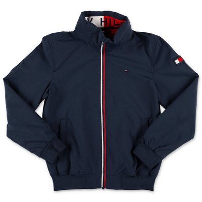 Tommy Hilfiger navy blue nylon jacket