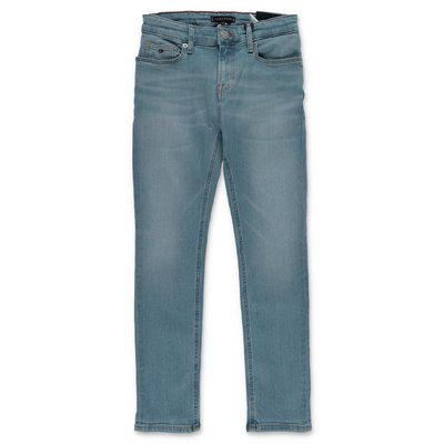 Tommy Hilfiger jeans blu in denim di cotone stretch