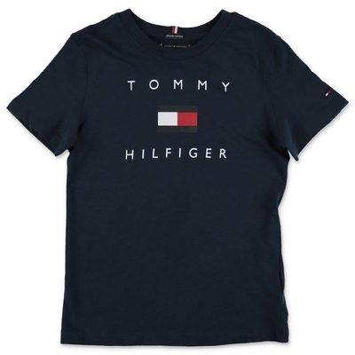 Tommy Hilfiger blue navy cotton jersey t-shirt