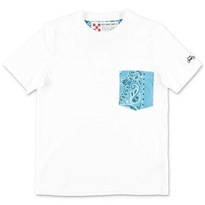 MC2 SAINT BARTH white cotton jersey t-shirt