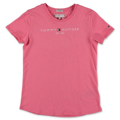Tommy Hilfiger pink cotton jersey t-shirt