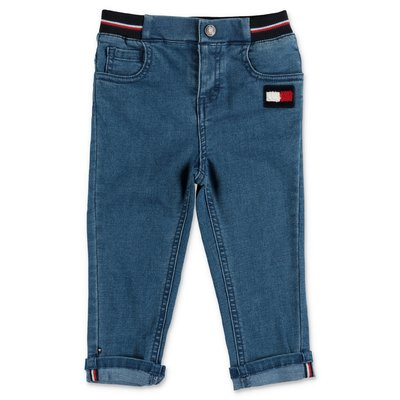 Tommy Hilfiger jeans blu in cotone denim stretch