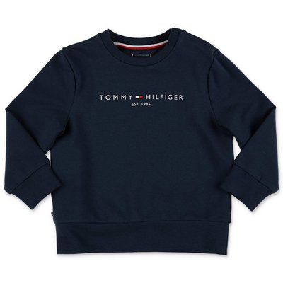 Tommy Hilfiger navy blue cotton sweatshirt