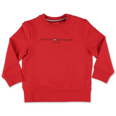 Tommy Hilfiger red cotton sweatshirt