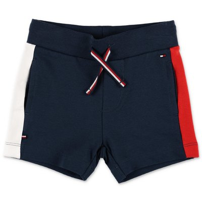 Tommy Hilfiger navy blue cotton shorts