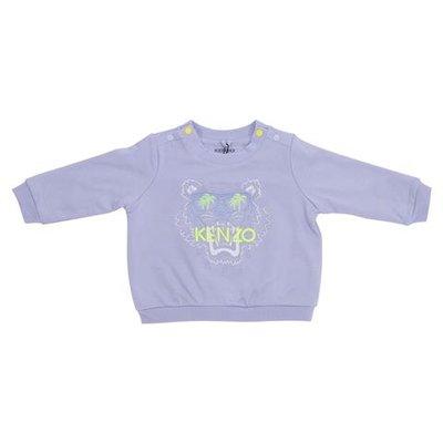Light blue Tiger cotton swatshirt