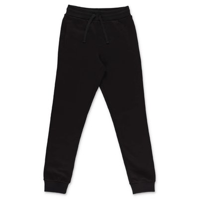 Dolce & Gabbana black cotton sweatpants
