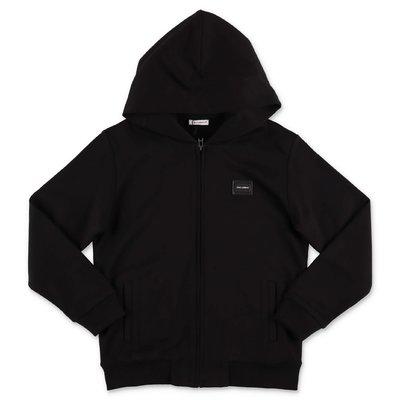Dolce & Gabbana black cotton hoodie