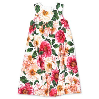 Dolce & Gabbana Power Pastel interlock cotton dress