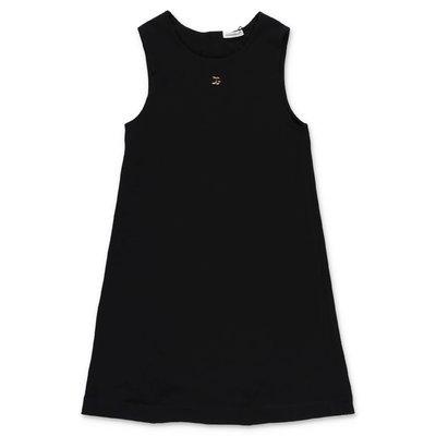 فستان Dolce & Gabbana من القطن الجيرسي الأسود