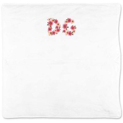 Dolce & Gabbana Power Pastel white cotton jersey blanket