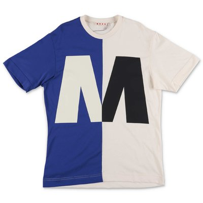 MARNI color block cotton jersey t-shirt