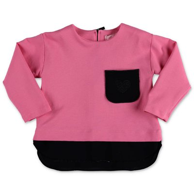 Miss Blumarine pink viscose t-shirt