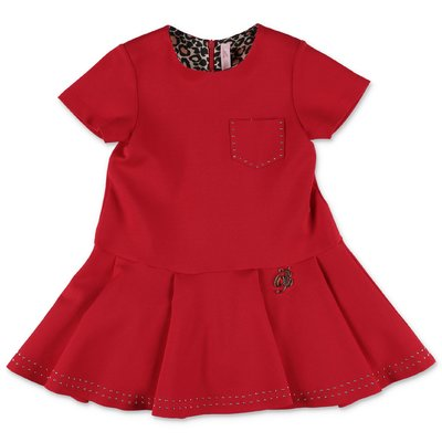 Miss Blumarine red Milano jersey dress