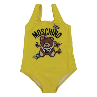 Yellow Teddy Bear lycra swimsuit