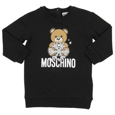 모스키노 코튼 티셔츠 드레스
