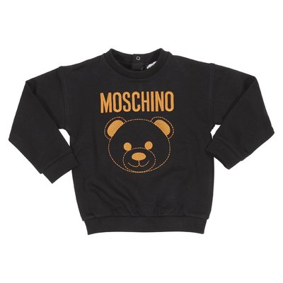 Teddy Bear black cotton sweatshirt