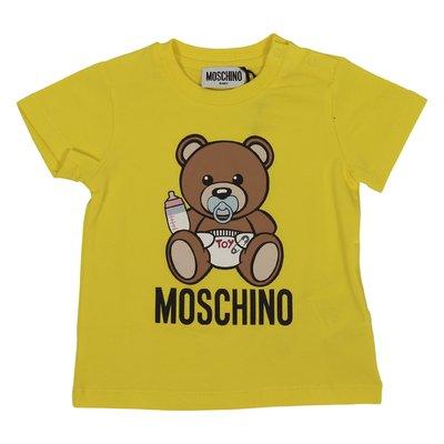 T-shirt gialla Teddy Bear in jersey di cotone