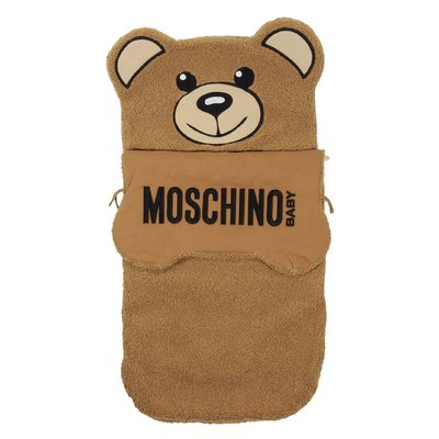 Brown Teddy Bear shaped sleeping bag