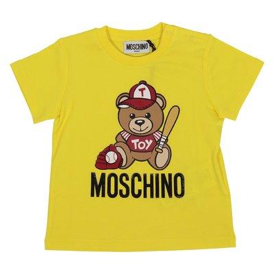Yellow Teddy Bear cotton jersey t-shirt