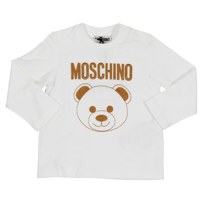 Teddy Bear white cotton jersey t-shirt
