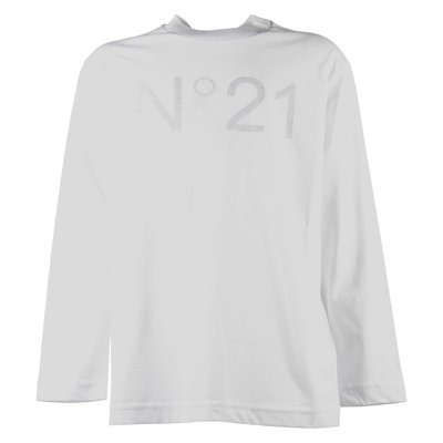 Nº21 로고 프린트 티셔츠