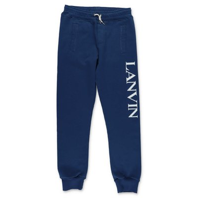 Lanvin blue cotton sweatpants