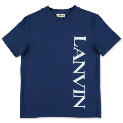 Lanvin blue cotton jersey t-shirt