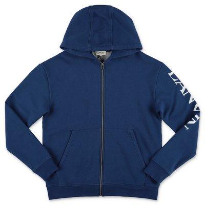 Lanvin blue cotton hoodie