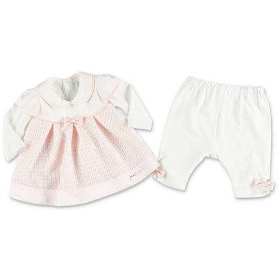 Modì pink & white cotton set