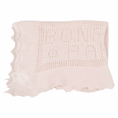 Pink cotton wool fragrant blanket