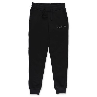 John Richmond black cotton pants