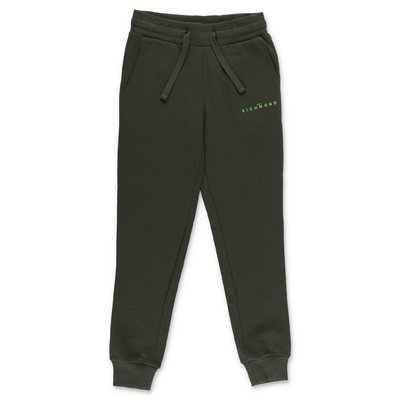 John Richmond military green cotton pants