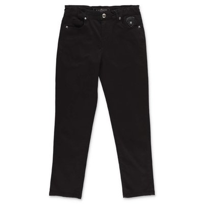 John Richmond black stretch cotton denim jeans