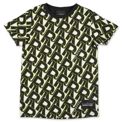 John Richmond printed cotton jersey t-shirt