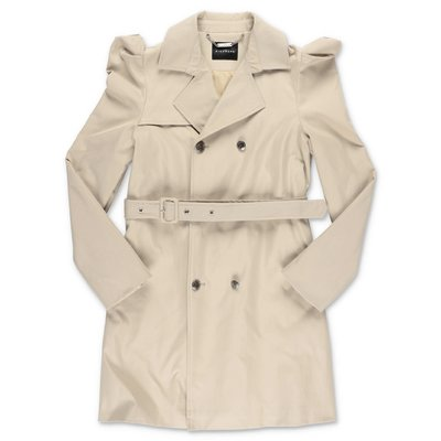 John Richmond trench beige in techno tessuto