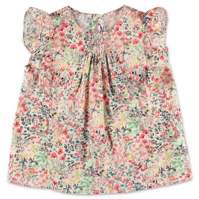 Bonpoint liberty print cotton muslin dress