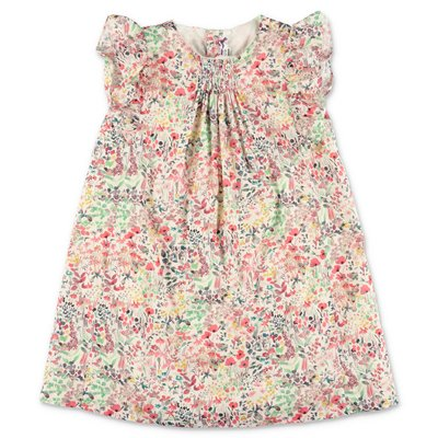 Bonpoint liberty print cotton poplin dress